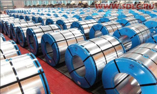 Оцинкованная сталь в рулоне
