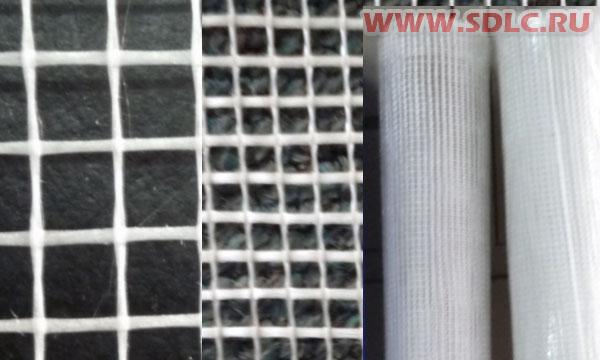 Штукатурная сетка для армирования стен